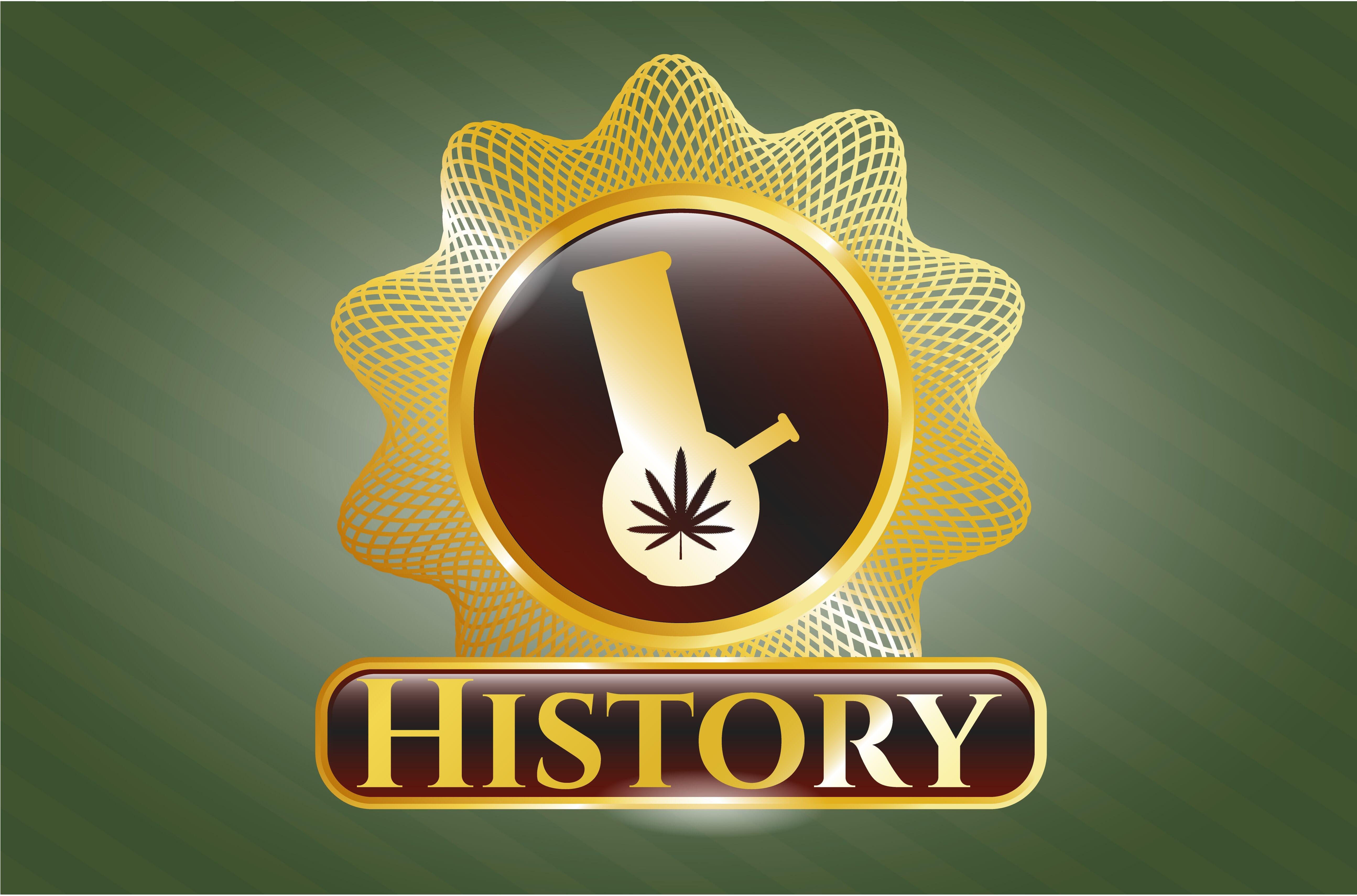 cannabis history sign