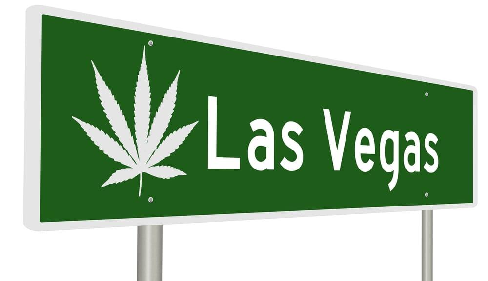 las Vegas Marijuana sign